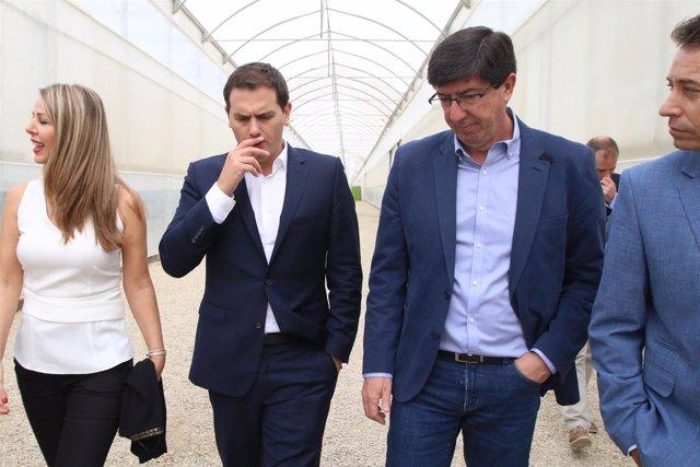 Fwd: Fotos Albert Rivera En Biosabor (Almería)