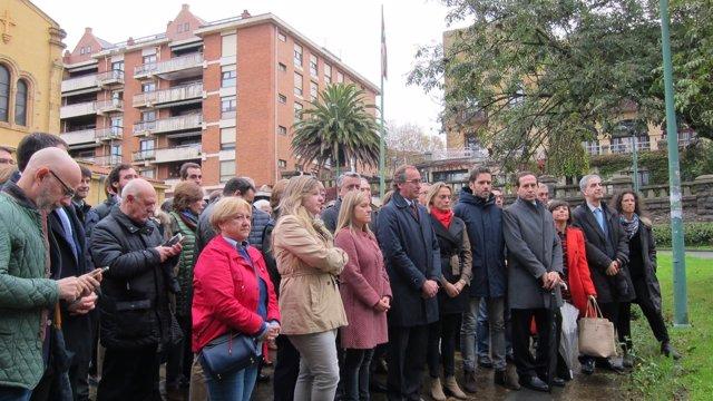 El PP vasco conmemora el Día de la Memoria en Getxo