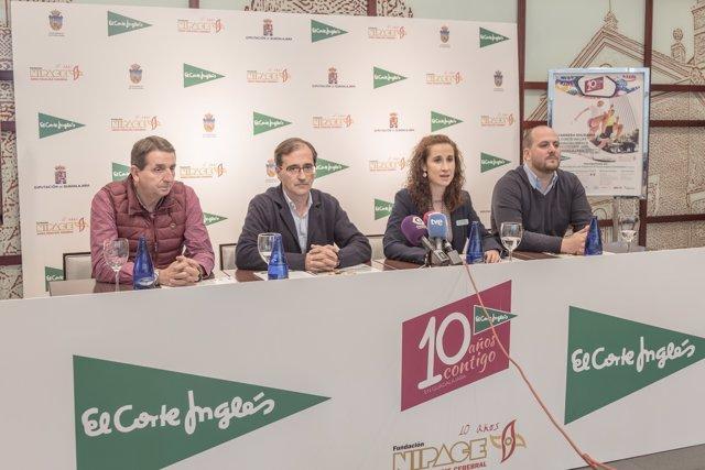 Presentación de la Carrera El Corte Inglés-Fundación Nipace