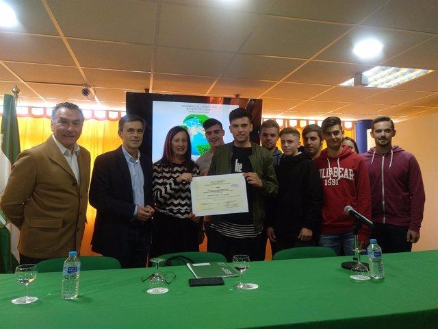 Premio Aldea de Medio Ambiente al IES Virgem del Carmen de Puerto Real