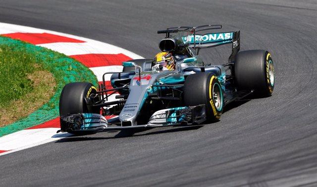 Lewis Hamilton en los libres del GP de Austria