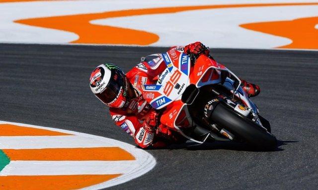 Jorge Lorenzo Gran Premio Comunitat Valenciana Valencia Cheste