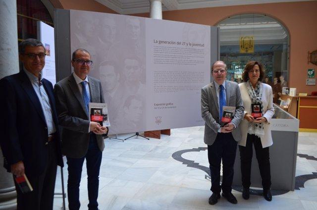 Inaugurada la exposición 'La Generación del 27 y la juventud'