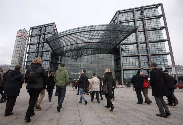 Estación central de tren de Berlín