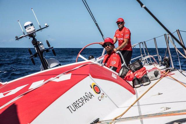 Pablo Arrarte y Xabi Fernández MAPFRE etapa 2 Volvo Ocean Race