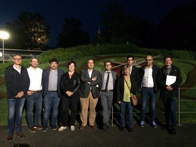 Alcaldes y representantes municipales viajan a Suiza