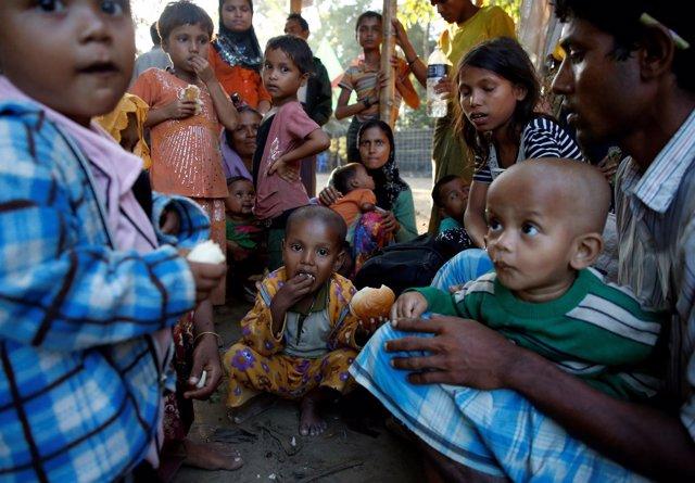 Refugiados rohingya en Cox Bazar