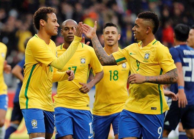 Brasil derrota a Japón y Colombia cae ante Corea del Sur