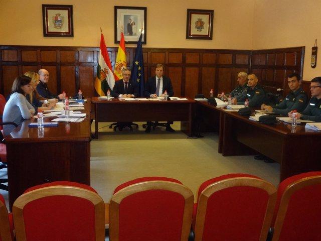 Reunión Junta Seguridad Santo Domingo