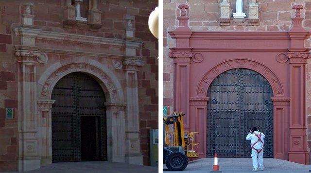 Pórtico Alcázar