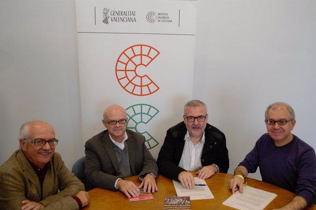 Reunión de los herederos y representantes de Cultura