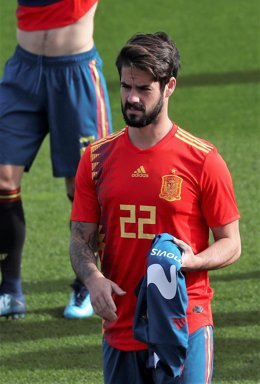 Isco con la selección española