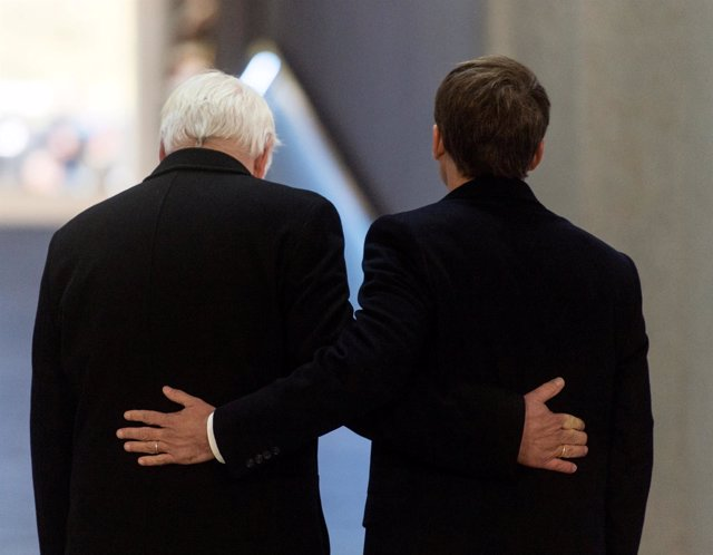 Frank-Walter Steinmeier y Emmanuel Macron