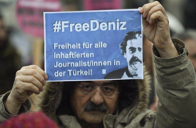 Deniz Yucel, periodista turco aleman