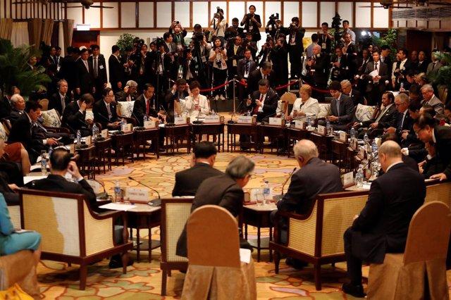 Líderes del APEC
