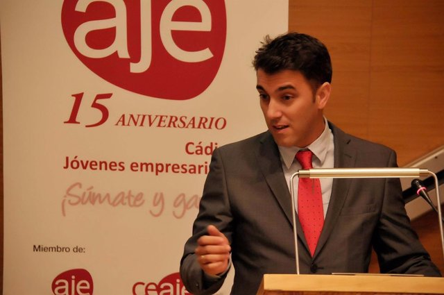 Jesús Belgrano, presidente de AJE Cádiz