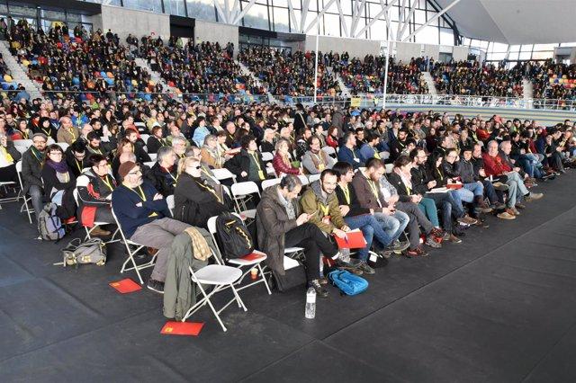 Assemblea Nacional de la CUP en Sabadell
