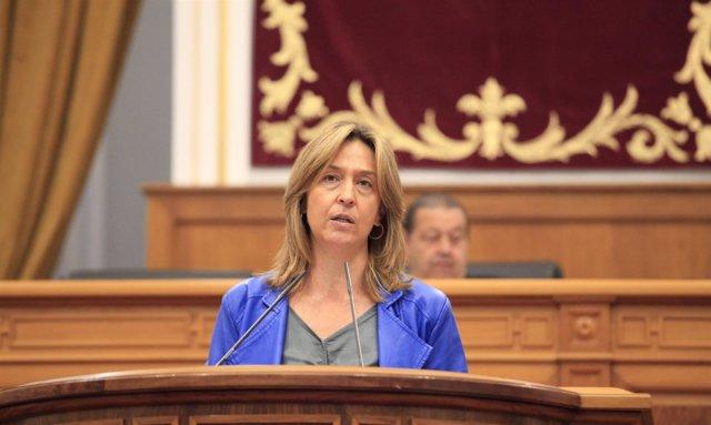 Gpp Clm (Cortes De Voz Y Fotografía) La Presidenta Del Gpp, Ana Guarinos, En El