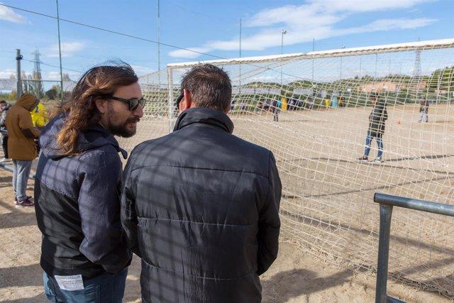 El ayuntamiento de zaragoza da luz verde al nuevo c sped artificial de siete campos de f tbol - Cesped artificial zaragoza ...