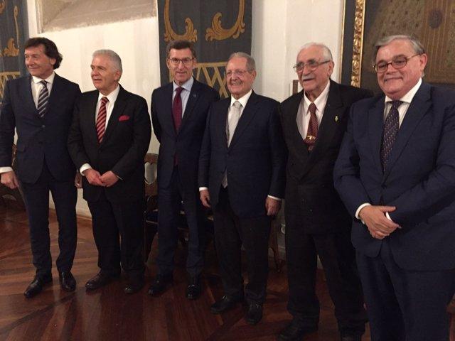 Lete Feijóo José Luis Torrado Olegario Vázquez Raña Barciela Carlos Padilla
