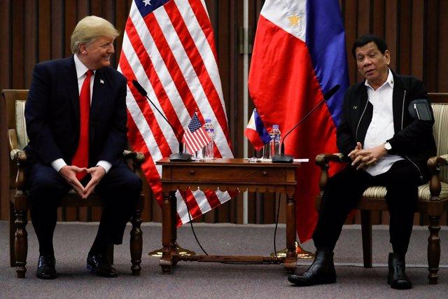 Reunión entre presidentes de EEUU y Filipinas, Donald Trump y Rodrigo Duterte