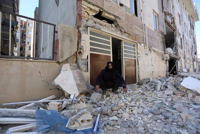 Terremoto en la frontera entre Irán e Irak