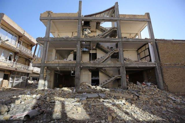 Terremoto en Irak e Irán