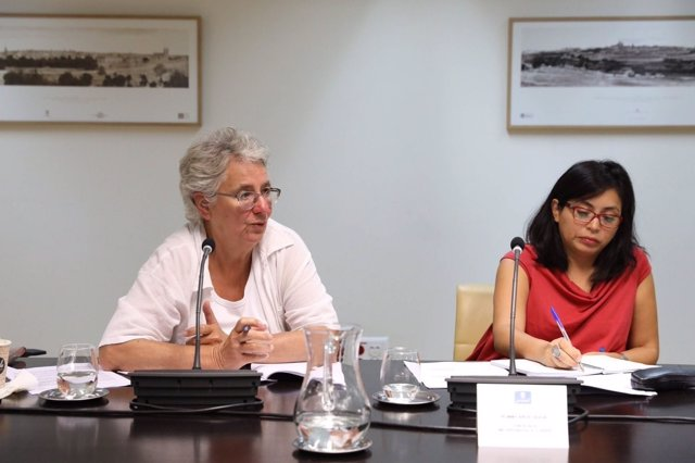 Montserrat Galcerán y Rommy Arce