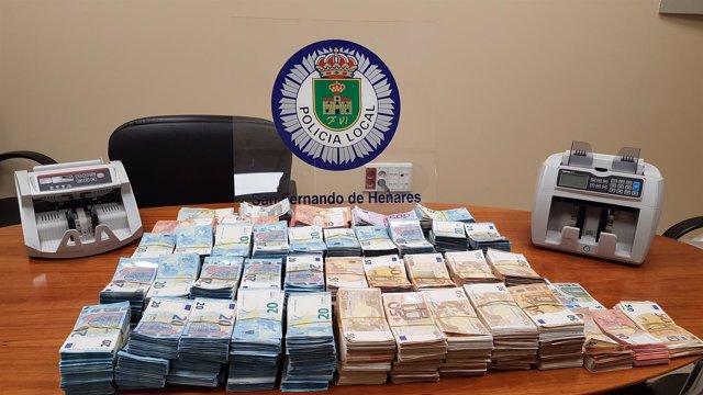 Np. Ayto. Sfh Incautación De 500.000€ Por Parte De La Policía Local De San Ferna