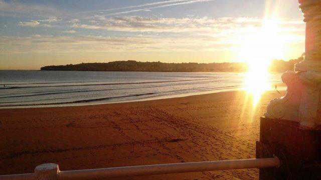 Playa de Gijón.