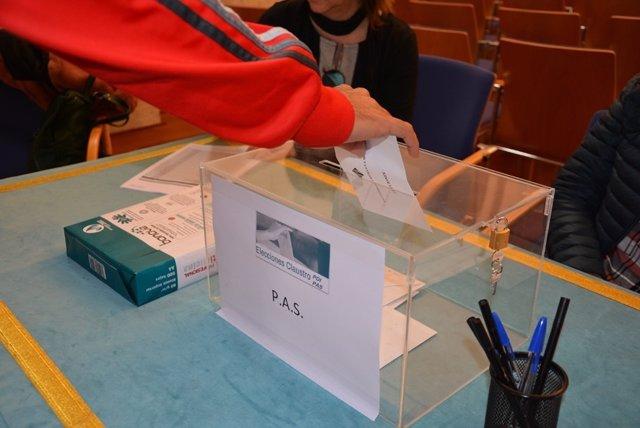 Uclm: 3.648 Miembros De La Uclm Eligen Hoy En Las Urnas A Sus Representantes En