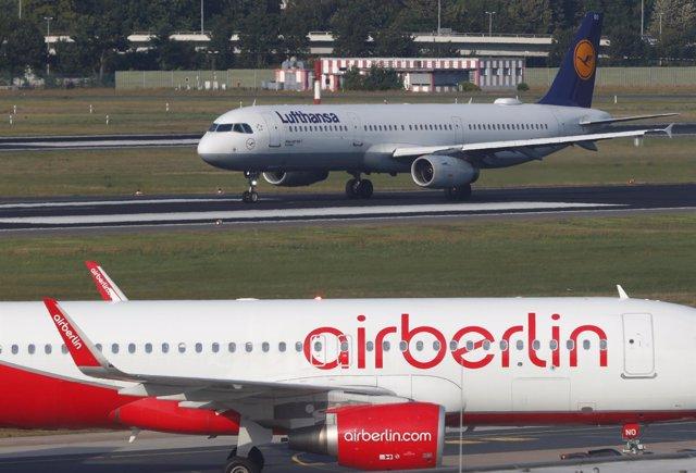 Avión de Air Berlín