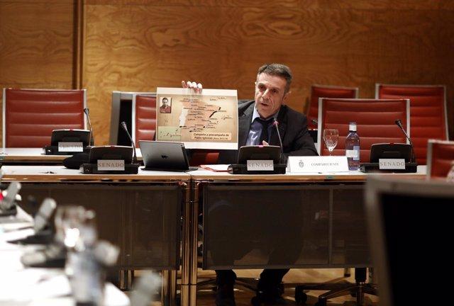 Enrique Rioboo en la Comisión de Investigación sobre la financiación de partidos