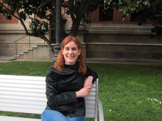 La miembro del Consejo Ciudadano Estatal de Podemos J.Albiach (Podem).