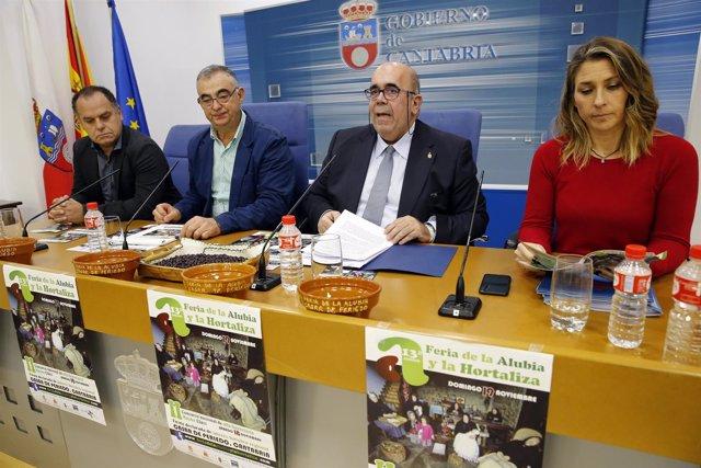 Sala De Prensa Del Gobierno De Cantabria El Consejero De Medio Rural, Pesca Y Al