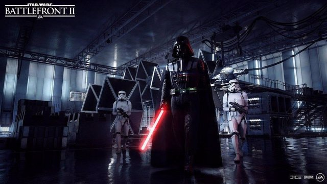 Star Wars Battlefront II héroes darth vader luke skywalker