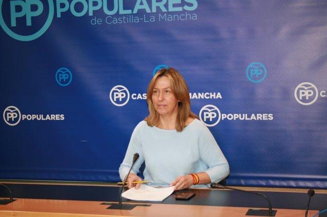 Gpp Clm (Cortes De Voz Y Fotografía) Ana Guarinos En Rueda De Prensa, 131117