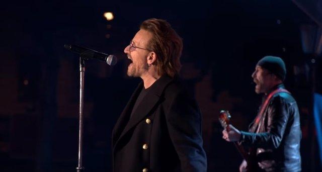 BONO Y THE EDGE DE U2