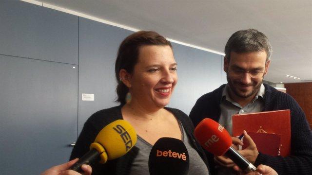 La concejal Laia Ortiz (BComú)