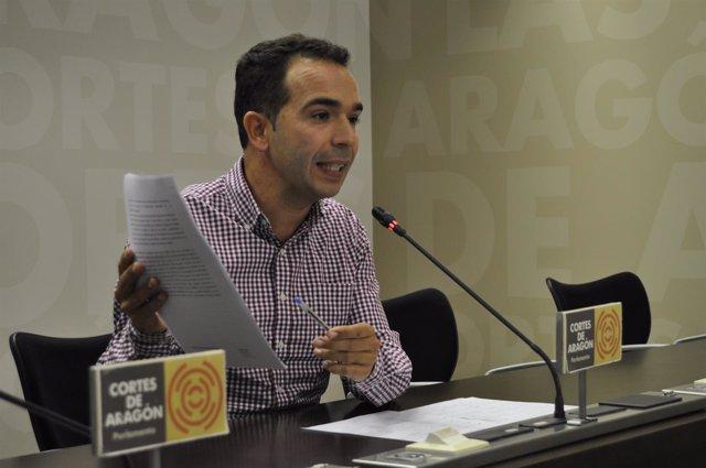 El diputado del PAR, Jesús Guerrero