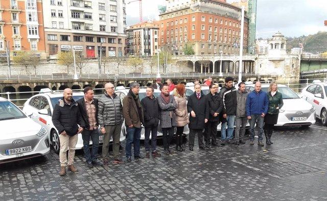 Taxis eléctricos Bilbao