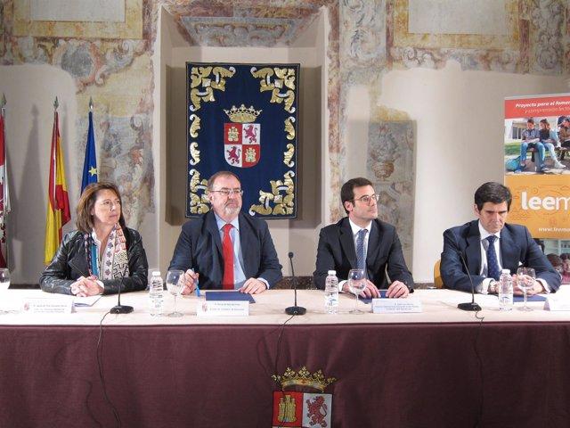 Convenio entre Educación y las fundaciones Telefónica y José Manuel Lara