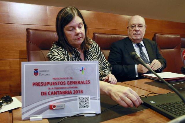 Presentación del presupuesto de 2018 en el Parlamento