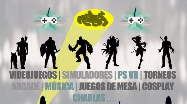 Cartel del Video Game Festival Buñol