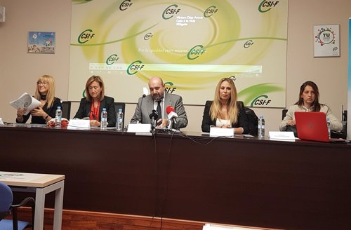 Campaña CSIF CEP violencia género