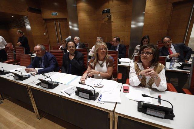 Comisión de Investigación sobre la financiación de los partidos en el Senado
