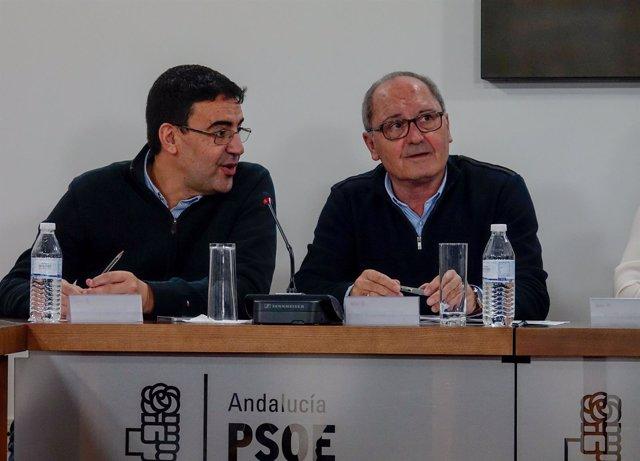 Mario JIménez y Juan Cornejo, este lunes