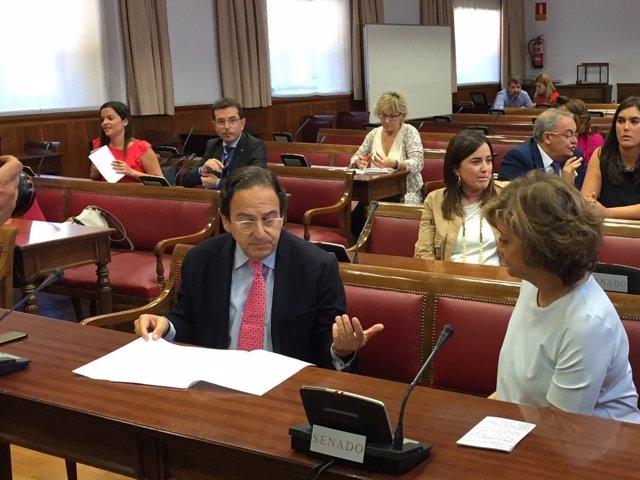 Aznar y Vindel en la comisión de investigación de financiación de partidos