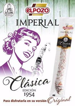 ELPOZO homenajea a uno de sus productos más emblemáticos, la Imperial Clásica