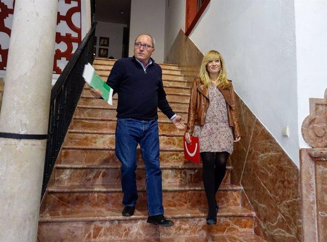 Juan Cornejo y Carmen Castilla, este lunes